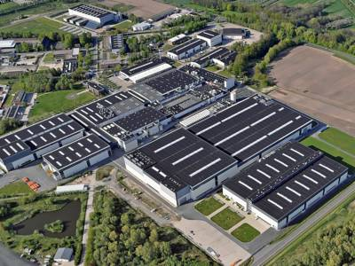 Airbus factory at Stade