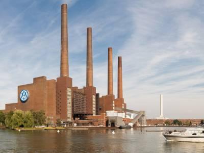 VW factory in Wolfsburg