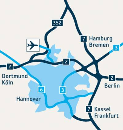 Hannover Airport - Standort