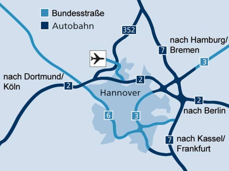 Hannover / Autobahnanbindung