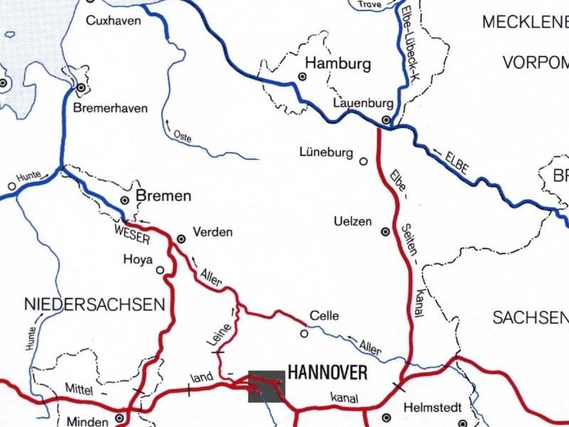 Wasserstraßenanbindung