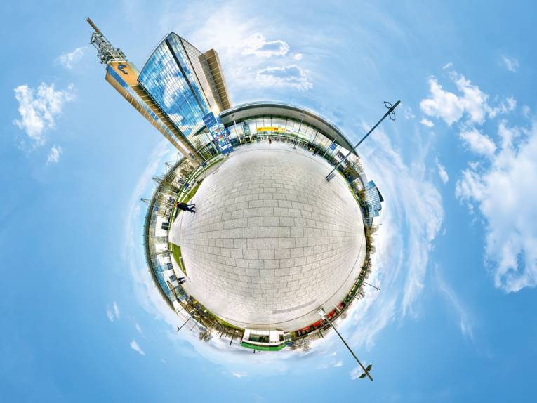 360 Grad Panorama Messestadt