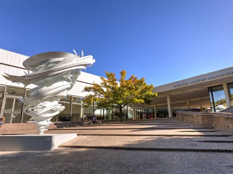 Sprengel Museum Hannover with modern art