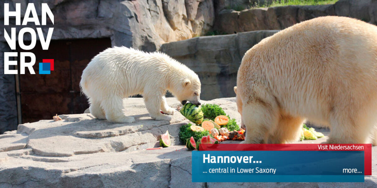 Zoo Hannover - central in Lower Saxony